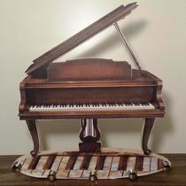 Piano - Porta Chaves Artesanal Personalizado