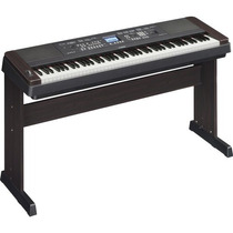 Piano Digital Dgx-650b Com Fonte Bivolt Preto Yamaha