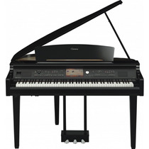 Clavinova Yamaha Cvp709gp Na Loja Cheiro De Musica !!