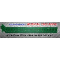 Reguas Das Teclas Roland D70 , Ep7 , Kr500 , Rhodes 760