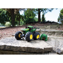 Trator John Deere Controle Remoto Monster Rc Off-road 4x4