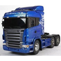 Rc Tamiya Truck Scania R620 Blue Edition- 1/14 #56327