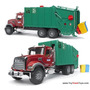 Bruder Mack Granite Rear Loading Garbage Truck
