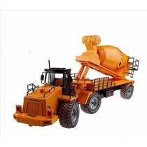 Caminhão Basculante Construção 1/18 Controle Remoto Rc