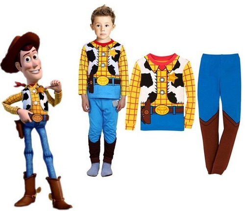 Pijama Fantasia Woody Toy Story - Pronta Entrega - R$ 69,90 no ...