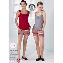 Conjunto De Pijama 14175 (atleta & Bermuda)
