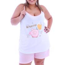Baby Doll De Malha Plus Size No Atacado (kit C/ 10 Peças)