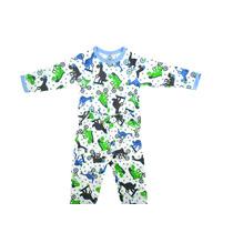 Pijama Bebê Dino Tam.01 E 02 Anos Piu-piu Frete Grátis