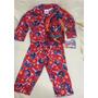 Pijama Flanelado Homem Aranha - Tamanho: 18 Meses Eua