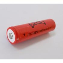 Bateria Recarregável 18650 3.7v Li-ion Lanterna Tatica Led