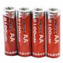 Pilhas Recarregáveis Mox Aa 4 Pilhas Com 2100mah