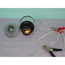 Carregador De Bateria Veicular, Com Lâmpada, Voltagem 110 V