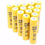 Kit 10 Bateria 18650 Liion Gold 6800mah 3.7v Lanterna Tática