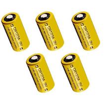 Bateria De Lithium Cr123a 3 Volts Para Infravermelho Sem Fio