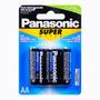 Pilha Aa Pequena Com 4 Unidades Panasonic