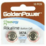 Bateria Golden Power Alkaline 389a 1.5 V C/2 Unidades