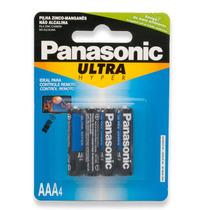 Pilha Aaa Ultra Hyper 4 Peças - Panasonic