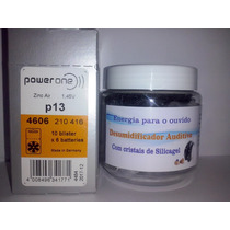 Pilha Aud Power One 13 C/ 60 Unidades+ Desumidificador Audit