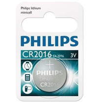 Bateria Cr2016 De Lithium Philips 2016 Para Calculadora, Rel