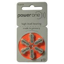 Pilhas Para Aparelho Auditivo Power One P13