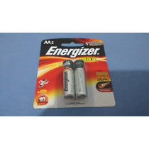 Pilha Energizer Max Aa2 Alcalina C/ 5 Unid 10 Pilhas
