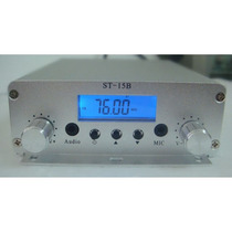 Transmissor De Fm 15 Watts N 0v0 Envio Imediato Frete Grátis