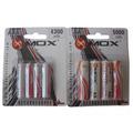 Kit Pilhas Mox Recarregável 4 Aa 5000 Mah E 4 Aaa 4300 Mah