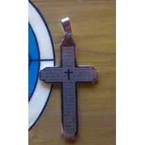 Pingente Crucifixo Oração Pai Nosso