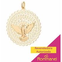 Rommanel Pingente Espirito Santo No Centro 3,5 Cm 541526