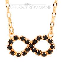 Rommanel Gargantilha Corrente Colar Feminina Ouro 18k 531417