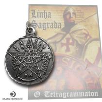 Pingente Tetragramaton Poderoso Símbolo