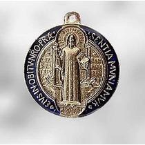 Medalha De São Bento Dupla Face - Resinada