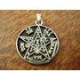 Pentagrama De Tetragrammaton Com Corrente - Ferro Fundido