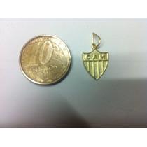 Pingente Em Ouro 18k Atletico-mg (galo) Lindo!!!