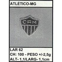 Pingente/medalha Ouro/pr 2,5g Atlético-mg Christianjoias.net