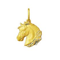 Pingente Cavalo Em Ouro 18k 1,4cm - Com Certificado