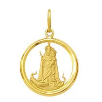 Medalha Nossa Senhora Da Penha 1,8cm Ouro 18k