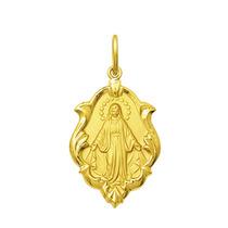 Medalha Nossa Senhora Das Graças Ouro 18k 1 Cm