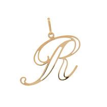 Pingente Ouro 18k - Letra R