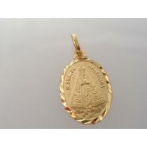 Pingente Nossa Senhora Aparecida De Ouro 18k J R Joalheiro