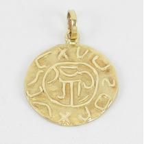 Esfinge Jóias - Pingente Egípcio Escravo Em Ouro 18k 750.