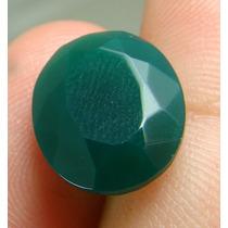 1.0 Cts De Pedra Em Esmeralda Verde Oval