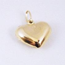 Monreale Pingente Coração De Ouro 18k