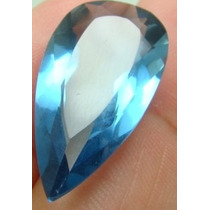 11 Cts Pedra Em Turmalina Indicolita Azul Gota Vvs