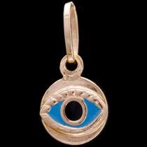 Olho De Horus - Pingente Em Ouro 18k - 750 - 0,40gr