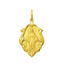 Medalha Nossa Senhora Das Graças Ouro 18k 1,5 Cm Certificado