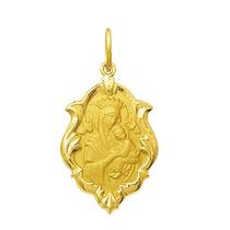 Medalha Nossa Senhora Perpétuo Socorro Ouro 18k 1,5 Cm