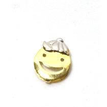 Pingente Menino Com Boné Em Ouro 18k