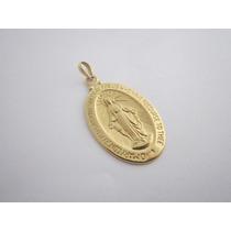 Vistosa Nossa Senhora Milagrosa - Ouro 18k - 3.85 Gr