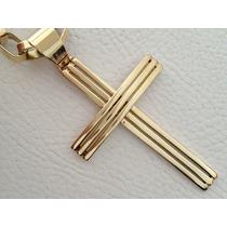 Pingente Em Ouro 18k 750 Cruz Modelo Cruzifixo Promoção